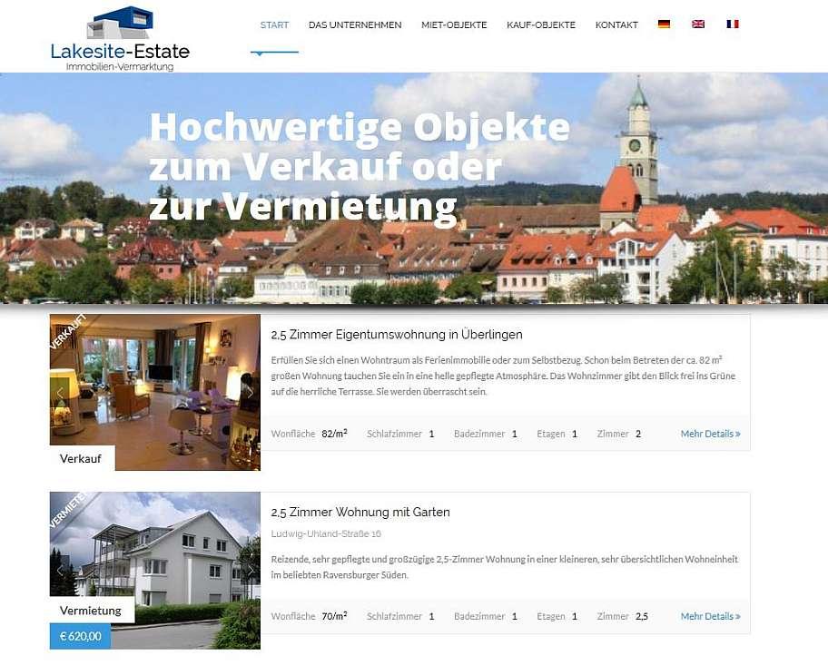 Lakesite-Estate Logo & Homepage