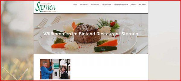 Bioland Restaurant Sternen