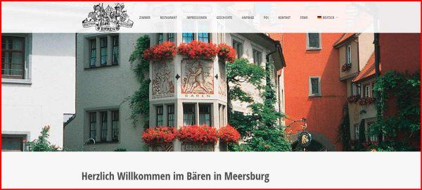 Hotel Bären in Meersburg